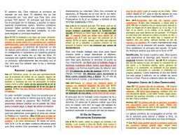 El Día de Reposo - Folletos y Tratados Evangelicos