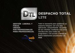 Despacho Total Lite - Asesoweb Profesional