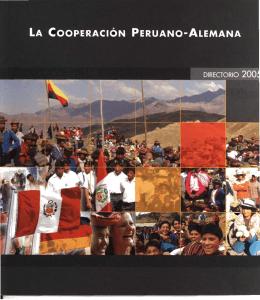 La cooperación Peruano-Alemana.