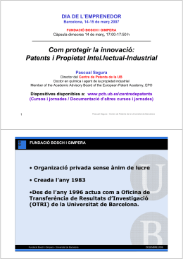 Patentes y Propiedad Intelectual-Industrial