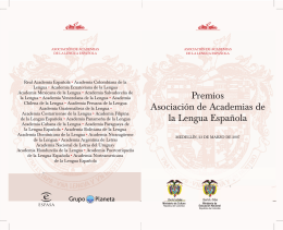 folleto premios academia.indd - Ministerio de Educación Nacional