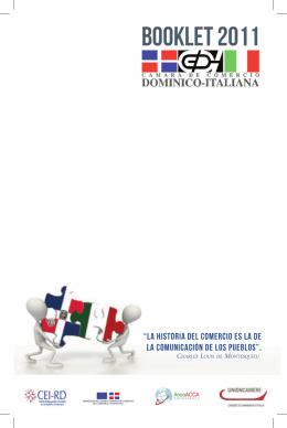 BOOKLET 2011 - Camera di Commercio Dominico Italiana