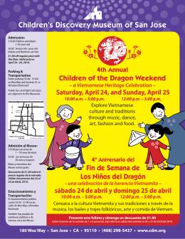 Children of the Dragon Weekend Fin de Semana de Los Niños del
