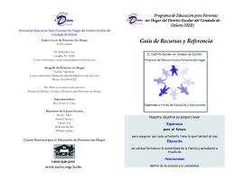 Guía de Recursos y Referencia