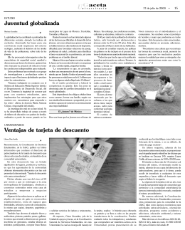 página 15. - La gaceta de la Universidad de Guadalajara
