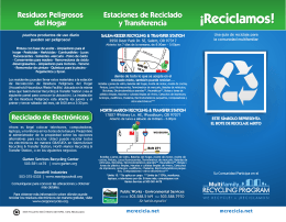 ¡Reciclamos! - Marion County