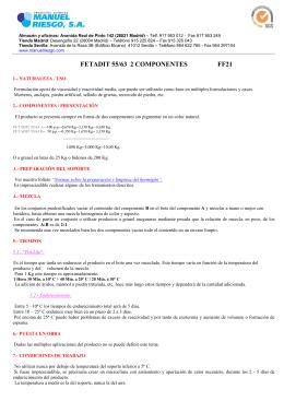 FETADIT 55/63 2 COMPONENTES FF21