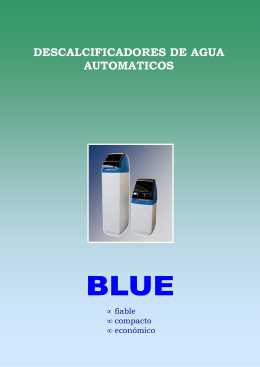 Folleto Gama Blue