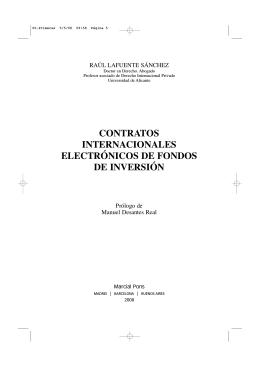 CONTRATOS INTERNACIONALES ELECTRÓNICOS