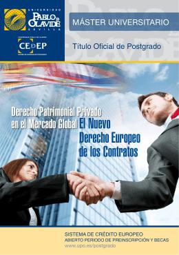 Derecho Europeo de los Contratos
