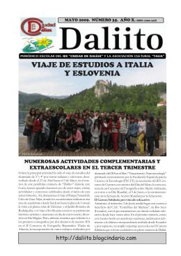 VIAJE DE ESTUDIOS A ITALIA Y ESLOVENIA
