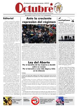 Octubre nº 70 (marzo 2014) - Partido Comunista de España