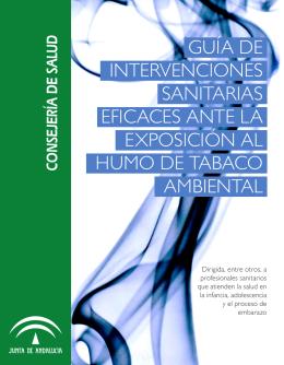 Guía Intervenciones eficaces ante el Humo Ambiental de Tabaco