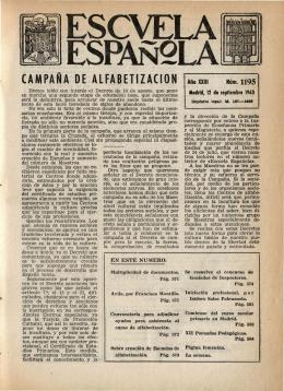 Año XXIII, núm. 1195, 12 de septiembre de 1963