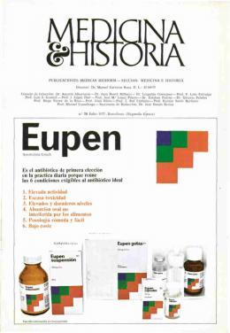 MEDICINA ^HISTORIA Eupen M