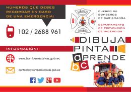 información: números que debes recordar en caso de una emergencia