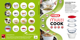 Instructions for use and recipes www.pyrex.eu