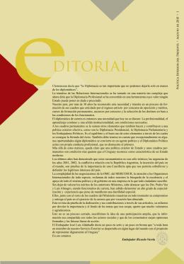 Revista Diplomática N° 1