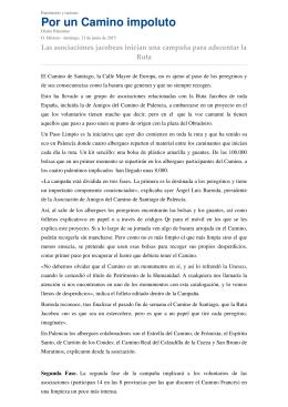 NOTA DE PRENSA-DIARIO PALENTINO