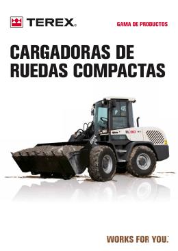 CARGADORAS DE RUEDAS COMPACTAS