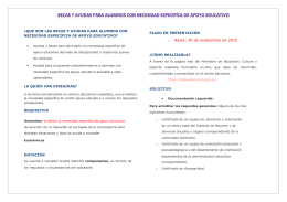 folleto becas 2015-2016