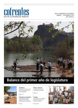 Boletín nº 1 - Ayuntamiento de Cofrentes