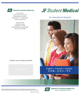 JF Student Medical