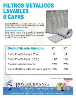 Folleto Rosenckranz METALICO 6 CAPAS 2012.FH10