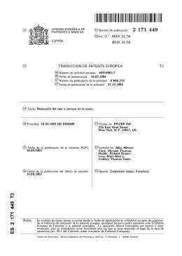 REDUCCION DEL OLOR A VERRACO EN LA CARNE.(ES2171449)