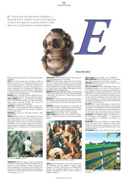 Escafandra - Elbibliote.com
