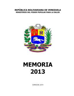 Memoria - Transparencia Venezuela