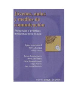 """(comp) (2002) """"Jóvenes, aulas y medios de comunicación"""