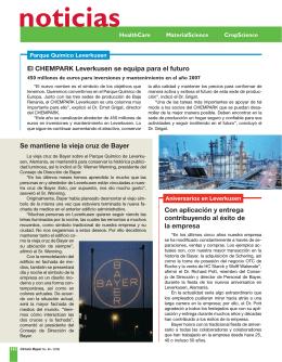 noticias - Bayer CropScience Mexico