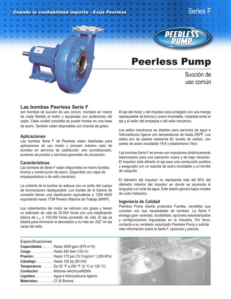 Peerless Pump