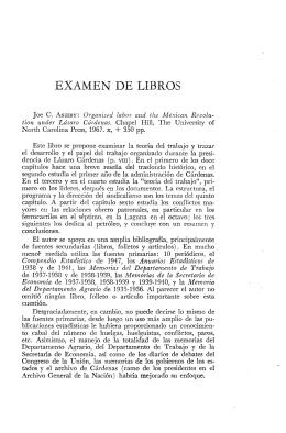EXAMEN DE LIBROS