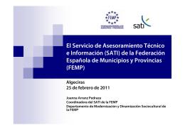 Presentación SATI Algeciras 25-02-11