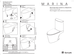 Folleto inodoro-deposito Marina