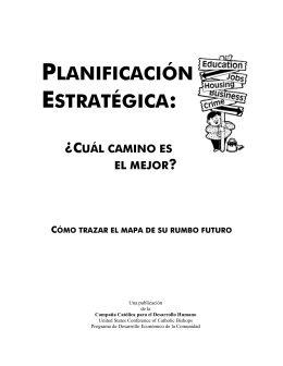 planificación estratégica - United States Conference of Catholic