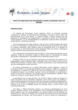 Carta de Identidad del MJS España