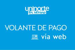 VOLANTE DE PAGO