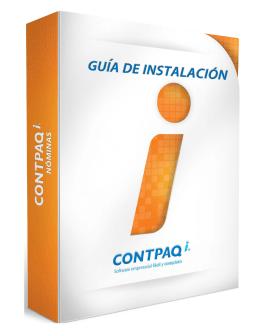 Guía de Instalación CONTPAQ i® NÓMINAS