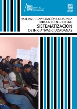 SISTEMATIZACIÓN - Centro Guaman Poma de Ayala