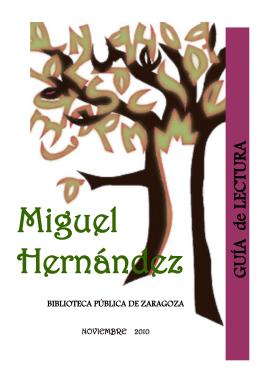 [ Miguel Hernández ] - Bibliotecas Públicas