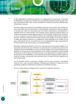 Estructura didáctica - Bachillerato en Red