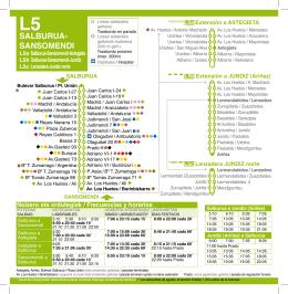 SALBURUA- SANSOMENDI - Club Atletismo La Blanca