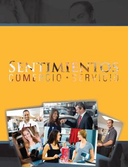 Descarga GRATIS el folleto Sentimientos, Comercio y Servicio
