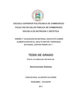 TESIS DE GRADO - Dspace ESPOCH