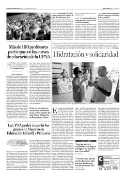 Diario de Noticias 25 de agosto