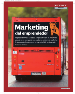 Marketing del emprendedor