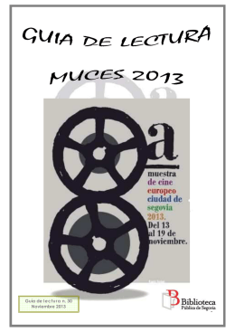 MUCES 2013 G